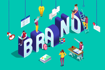 Brand building graphic